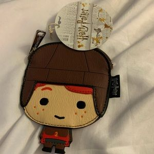 """Loungefly x Harry Potter """"Ron"""" themed  coin purse"""
